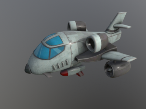 B-1 3D model