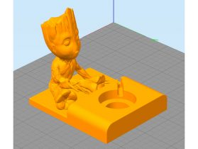 Baby Groot Apple Watch Base 3D model