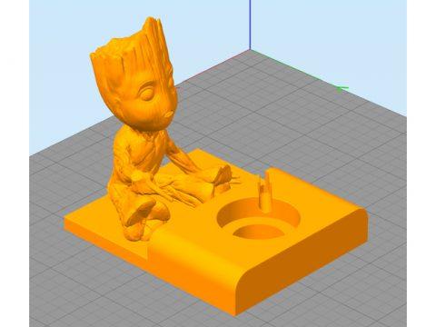 Baby Groot Apple Watch Base 3D model