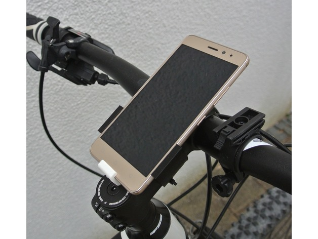 Bike Phone Mount Lenovo K6 3D model