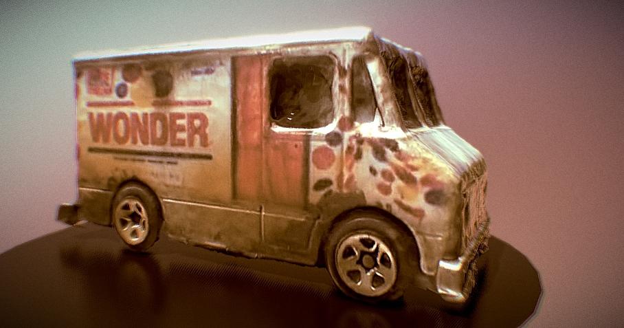 Bimbo Truck 3D model