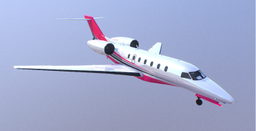 Buckingham Nimbus Aircraft 3D model
