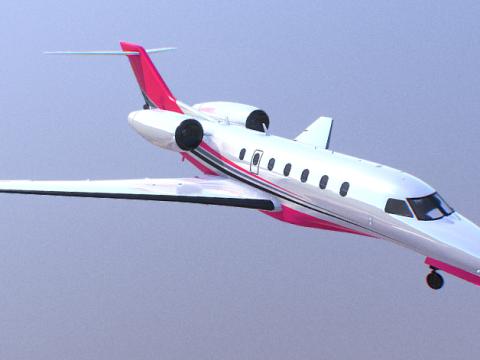 Buckingham Nimbus Aircraft 3D model