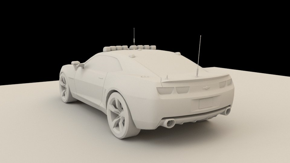 3D Camaro model