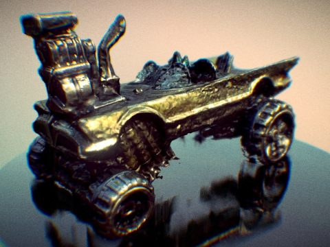 Car Mad Max 3D model