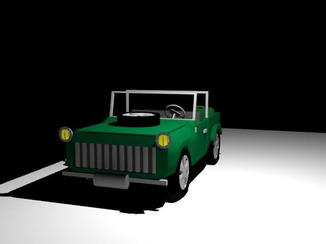 3D Car LOW POLY model