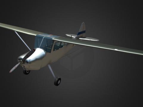 Cessna L19 3D model