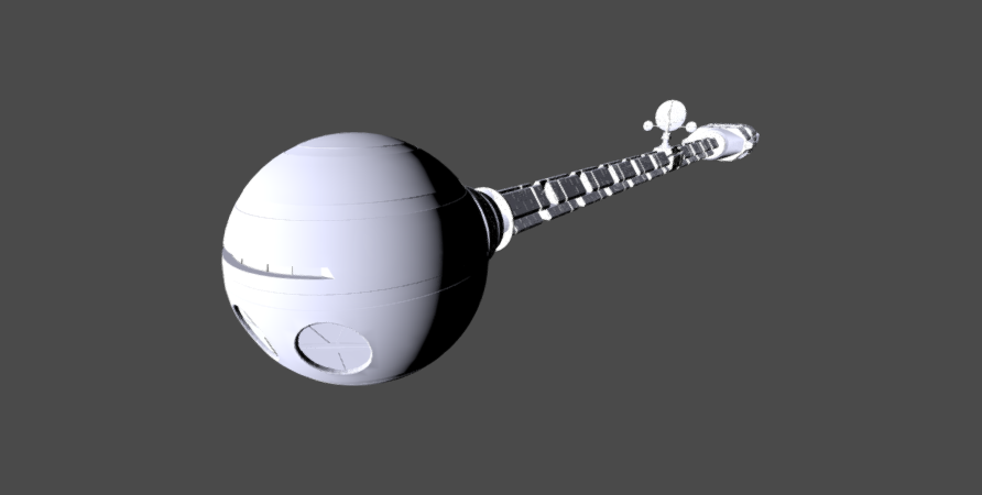 Discovery One 3D model