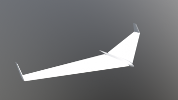 Flying Wing 78 3D model