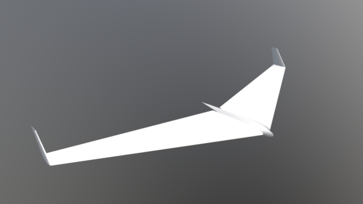 Flying Wing 78 3D model