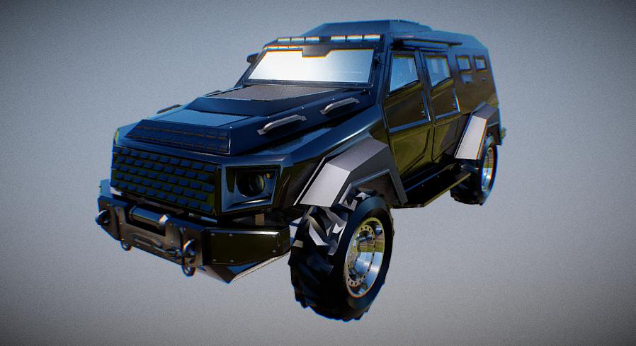 HVY Insurgent SUV 3D model