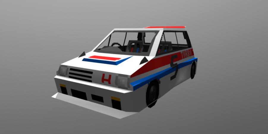 Honda City Turbo II 3D model