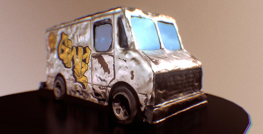Hot Wheels Combat Medic 3D model