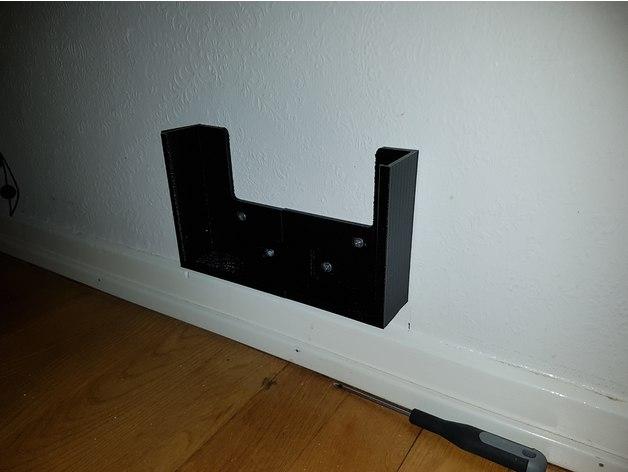 3D Mac Mini wall mount model