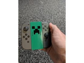 Nintendo Switch Joy-Con Basic Grip 3D model
