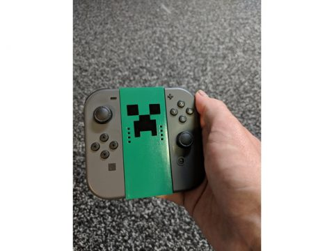 Nintendo Switch Joy-Con Basic Grip 3D model