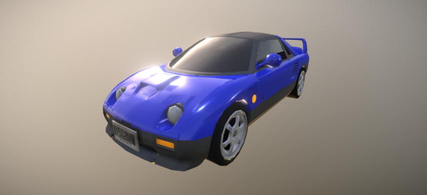 Mazda Autozam AZ-1 3D model