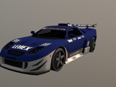 Modified Sports 3D model