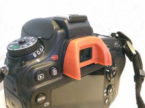 Nikon Eye Piece DK-21/DK-23 3D model