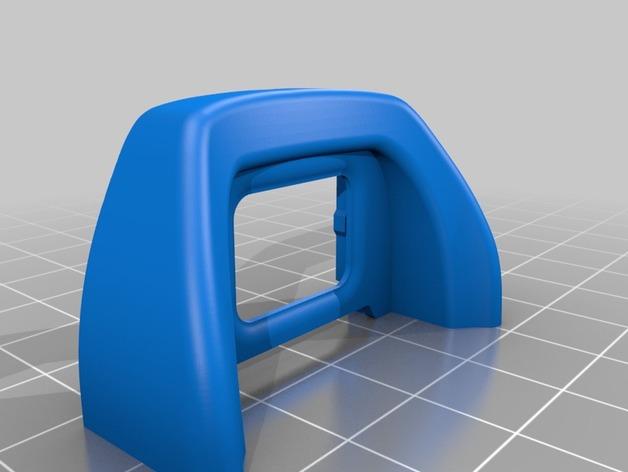 3D Nikon Eye Piece DK-21/DK-23 model