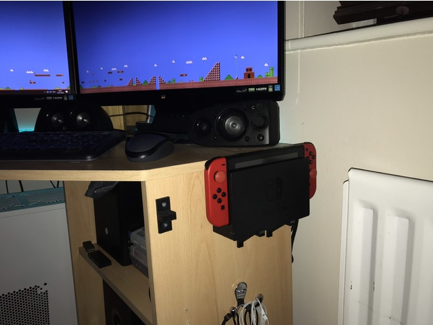 Nintendo Switch Dock Desk Mount