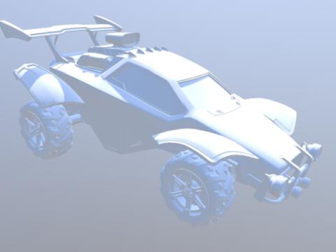 Octane Car 3D model