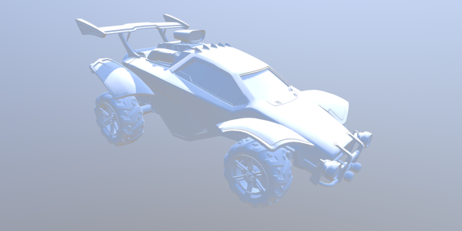 Octane Car 3D model