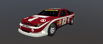 Oval Racer Special 3D model