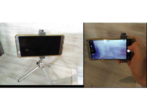 Phone camera grip 3D model