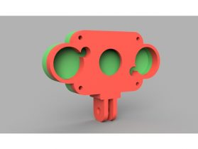 Raspberry Pi IR Camera Mount 3D model