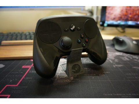 Steam Controller Stand 3D model