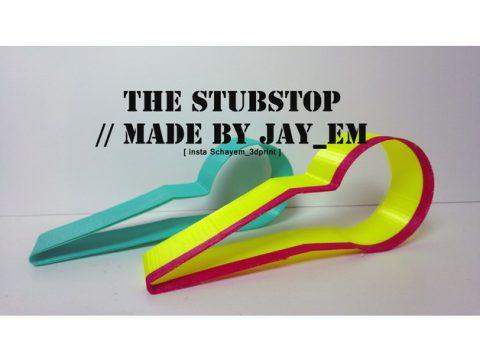 Stubstop the lightweight door stopper 3D model