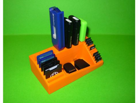Support USB/SD/microSD 3D model