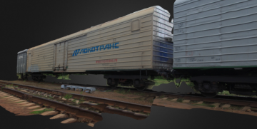 TRAIN vagon 3D model