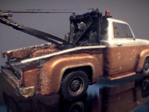 Vapid Grua - GTA V 3D model