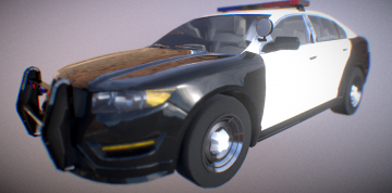 Vapid Interceptor LX 2011 3D model