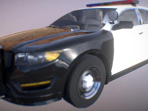 Vapid Interceptor LX 2011 3D model
