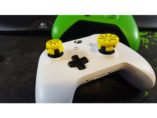 3D XBOX ONE Thumb Stick Controller Extension model