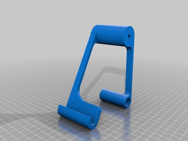3D Tablet adjustable holder model