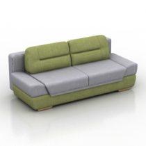 Sofa Daura Pushe 3d model