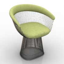 Armchair Platner 3d model