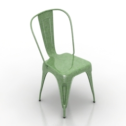 Chair TOLIX HIGH BACK 3d model