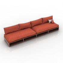 Sofa 3d model free download