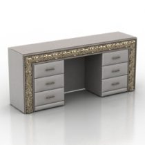 Dressing table Sacramento Double Sided Dream Land 3d model