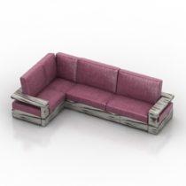 Sofa MOD 3d model
