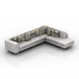 Sofa ARDEN KOSE 3d model