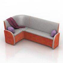 Sofa Karina Corner 3d model