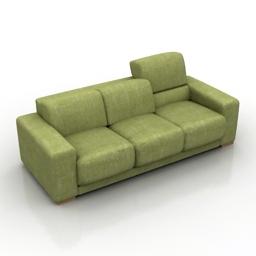 Sofa MONO 3d model