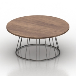 Table Swoon Grove 3d model