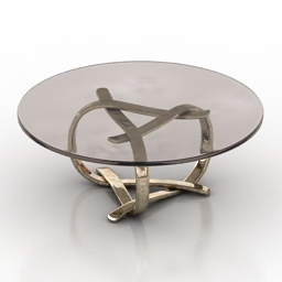 Table buechley 3d model